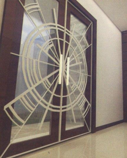 ... design rumah minimalis dengan teralis jendela minimalis dan pagar